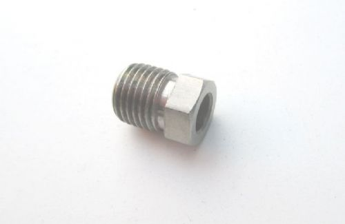 Pipe nut 6.35mm STAINLESS STEEL